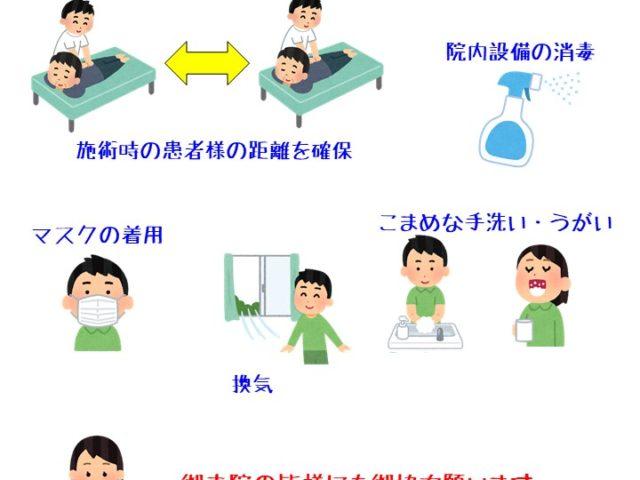 当院の新型コロナウイルスを含む感染症対策の取り組みについて